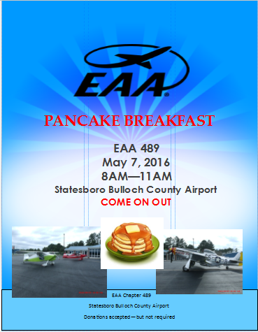 Pancake Breakfast and Fly-in