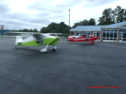 Experimental Aircraft flown from Canada to Statesboro Bulloch County Airport