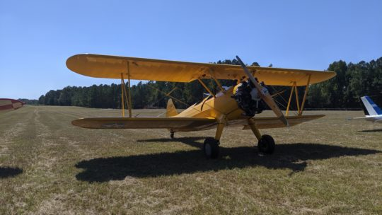 EAA 489 At The 2019 Allendale Black Tie Fly-In