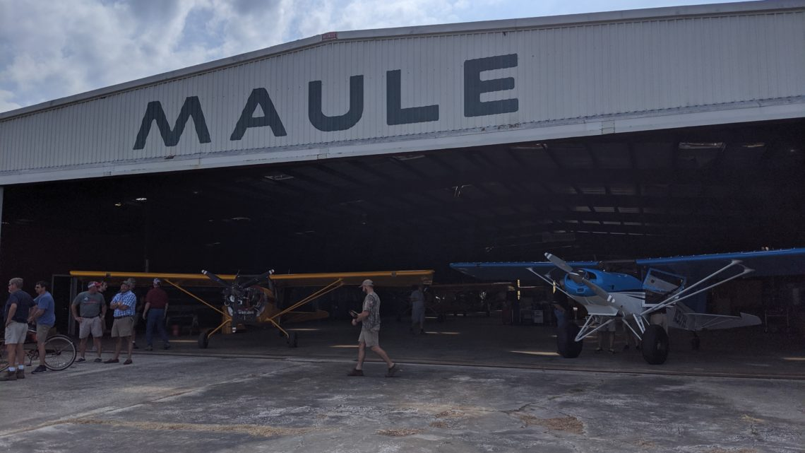 EAA 489 Goes to The 2019 Maul Factory Fly-In